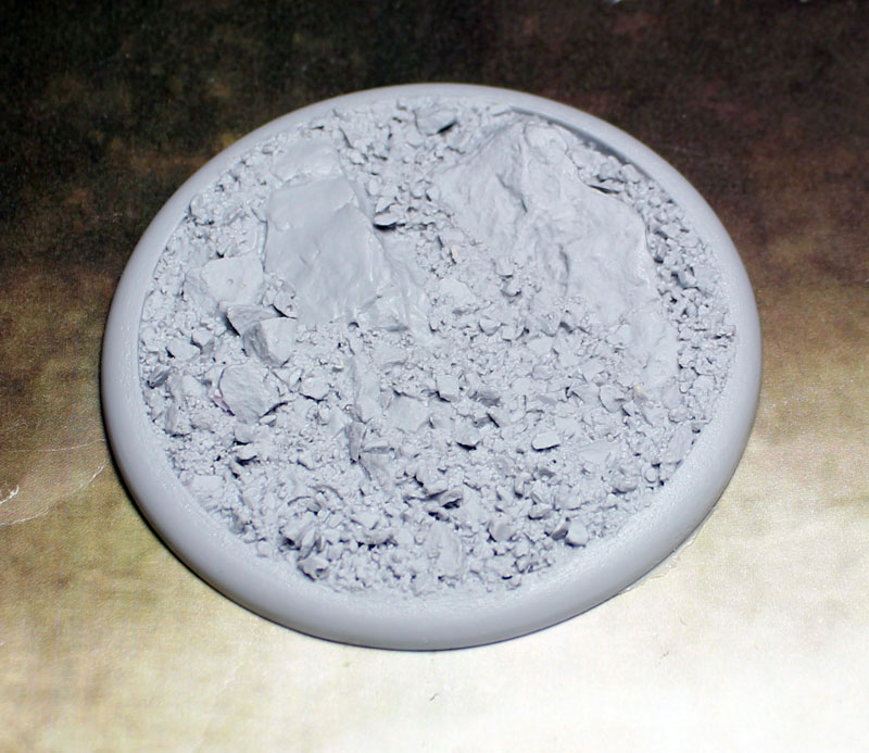 Round Lip Bases: Rocky Bluff 80mm