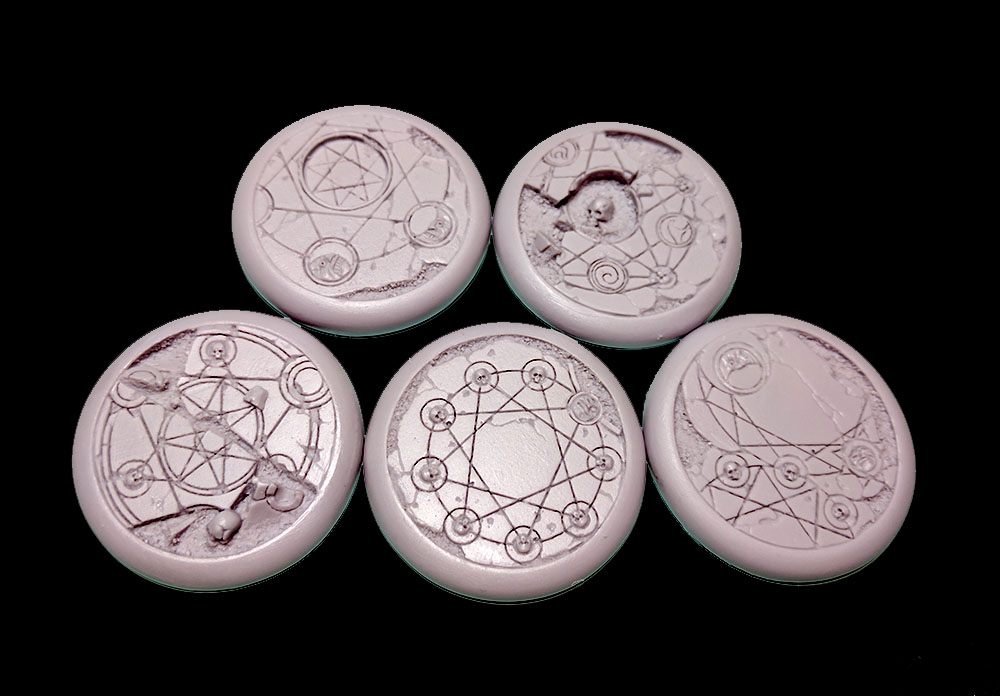 Round Lip Bases: Shattered Ritual 40mm
