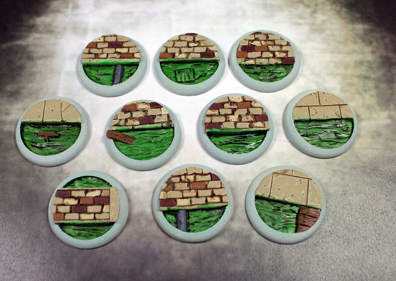 Round Lip Bases: Sewer Works 30mm