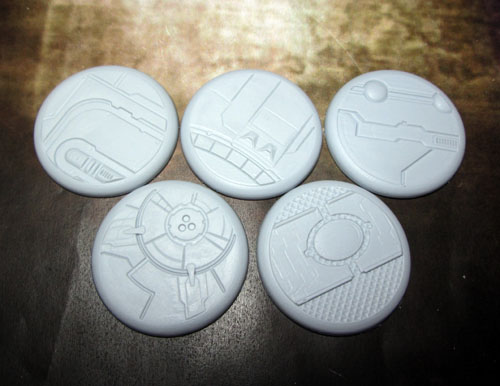 Round Lip Bases: Tau Ceti 40mm
