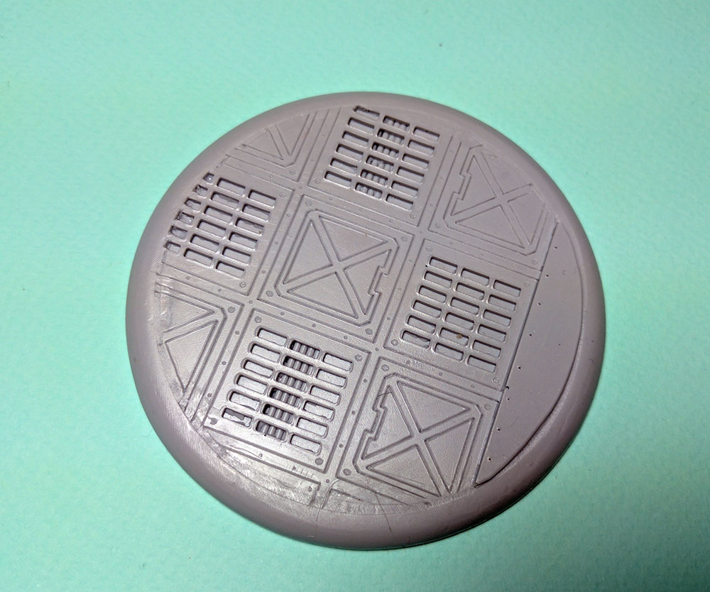 Round Lip Bases: Warp Core 80mm