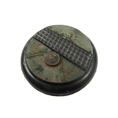 Round Lip Bases: Iron Deck Base 01 50mm