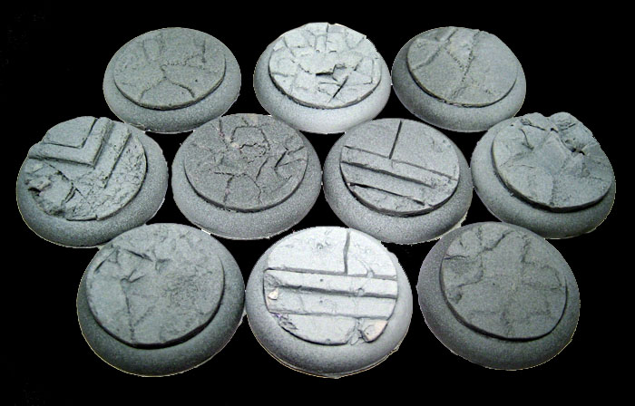 Round Lip Bases: Urban Streets 30mm