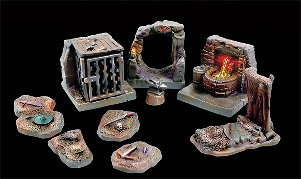 Caverns and Mines Orc Warren Set
