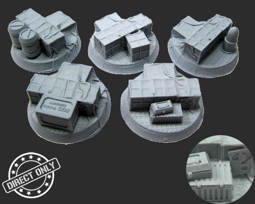 Secret Weapon Logo Objective Markers