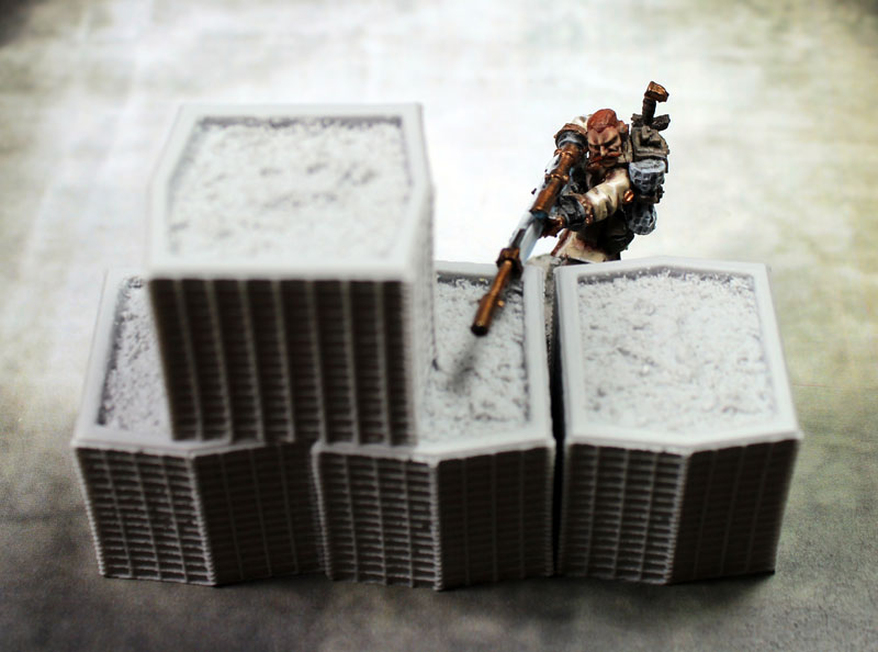 Terrain: HESCO Barriers