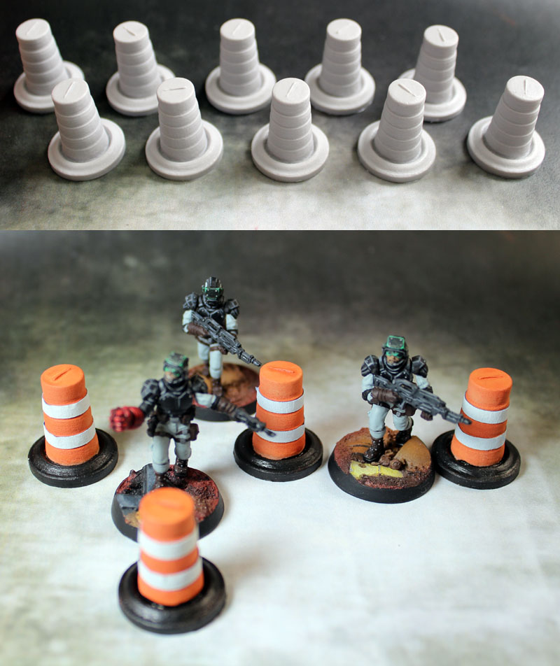 Terrain: Traffic Pylons (10)