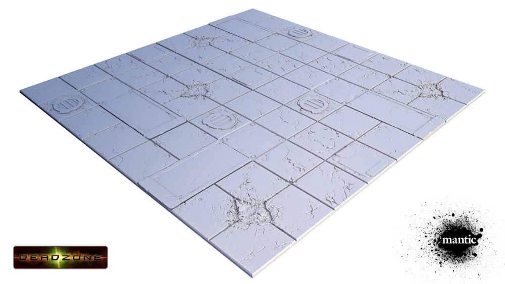 Tablescapes Tiles - Display Board: Deadzone