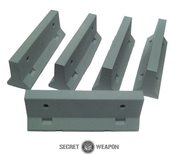 Terrain: Jersey Barriers - Set of 5