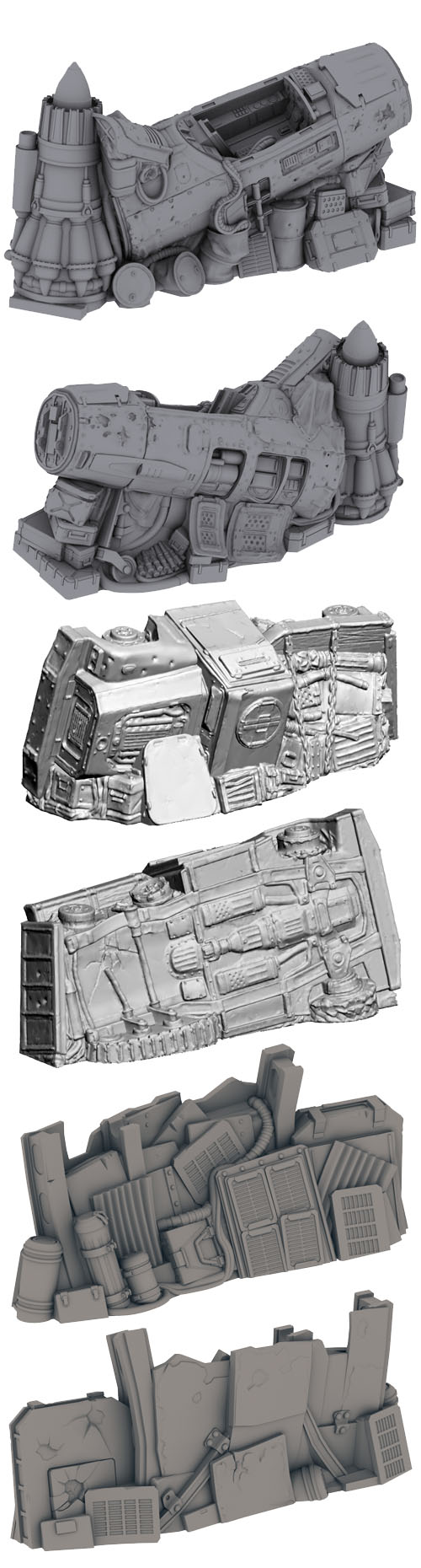 Terrain: Scrap Yard - Barricades