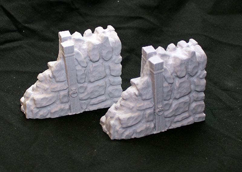 Flagstone Fortifications: Endcaps (2)