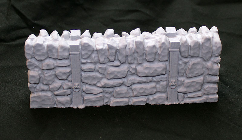 Flagstone Fortifications: Straight Wall